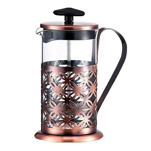 600 ml cafetera de pistón 304 de acero inoxidable cafetera ...