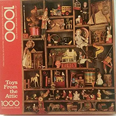 1000pc Toys From The Attic Puzzle By Springbok