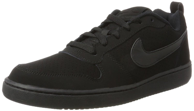 NIKE Men's Court Borough Low Basketball Shoe B013VNXHRK 12 D(M) US|Black/Black-black