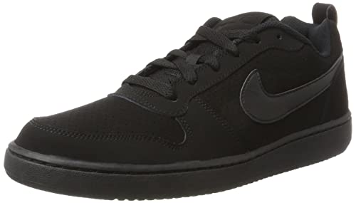 Nike Court Borough Low Scarpe da Basket Uomo Nero 010