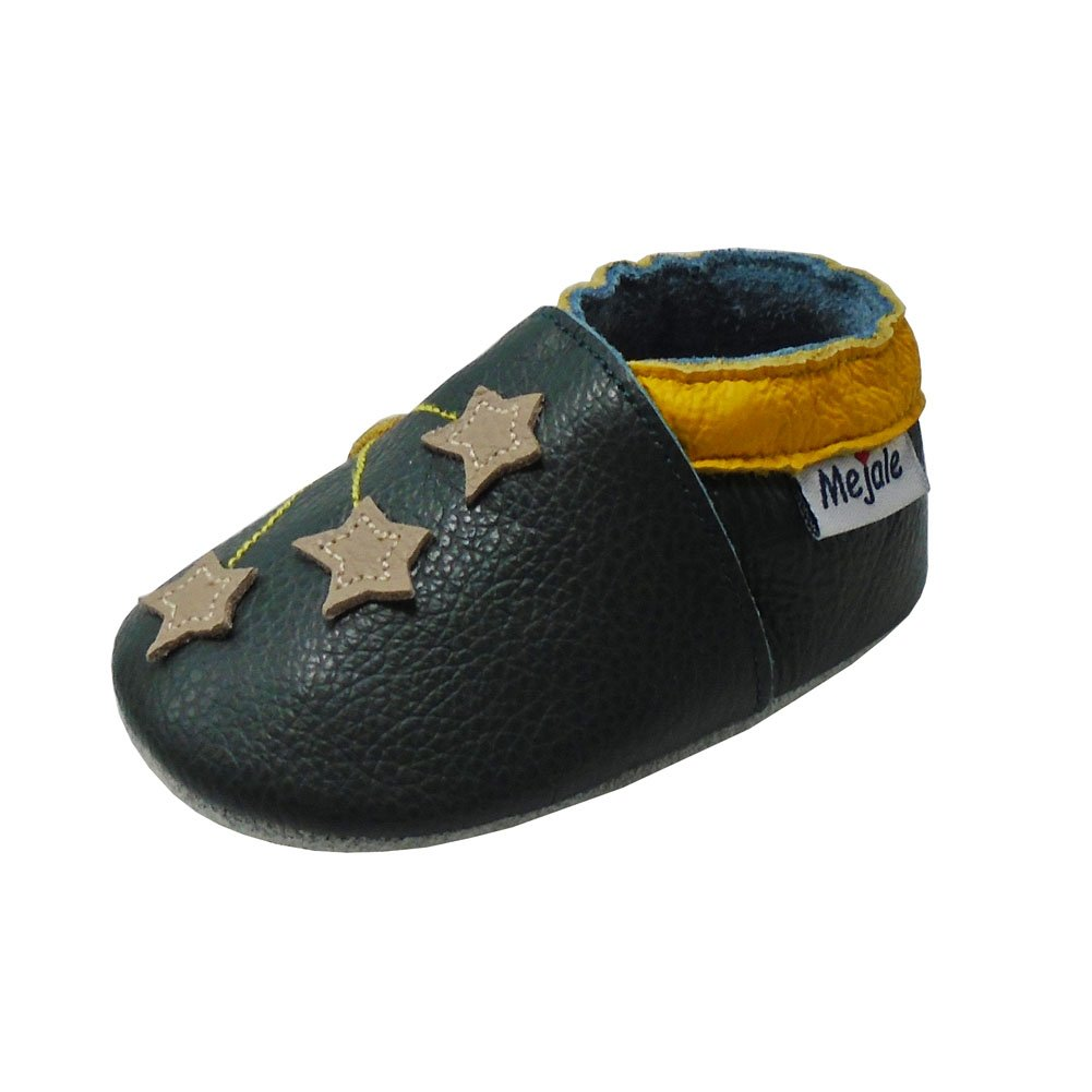 Mejale Baby Shoes Toddler Infant Soft Leather Sole Newborn Boys Girls Crib Moccasins