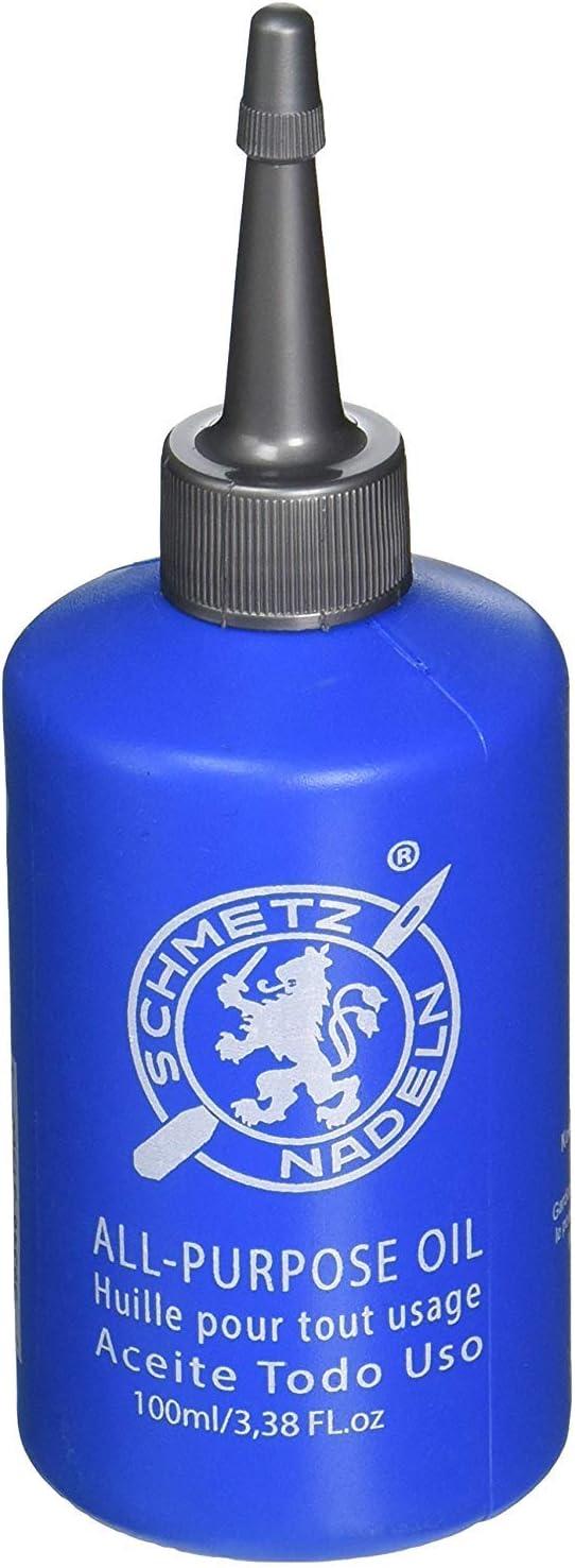 Schmetz - Aceite lubricante para máquina de coser multiusos (descuento a granel para grandes ahorros) 24 x 100ml ...
