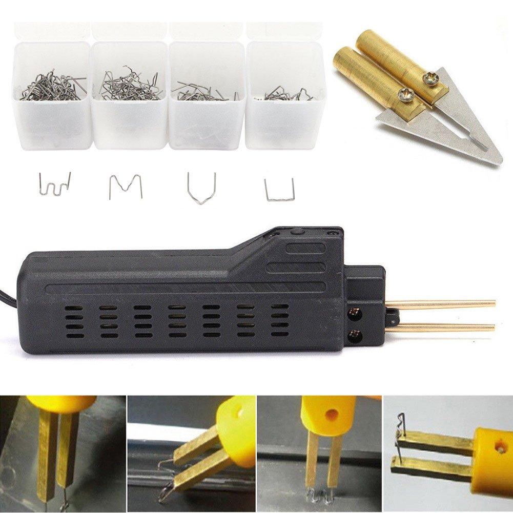 Kit di Riparazione in plastica per parafanghi e saldatori ieenay con 200 Punti Metallici