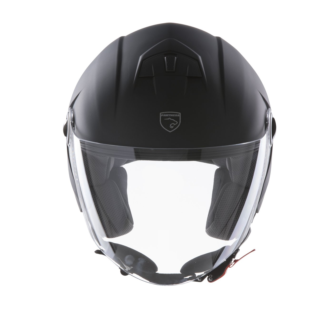 Panthera casque moto full jet Trendy blanc brillant taille L Rider Valley FS715L-WHL