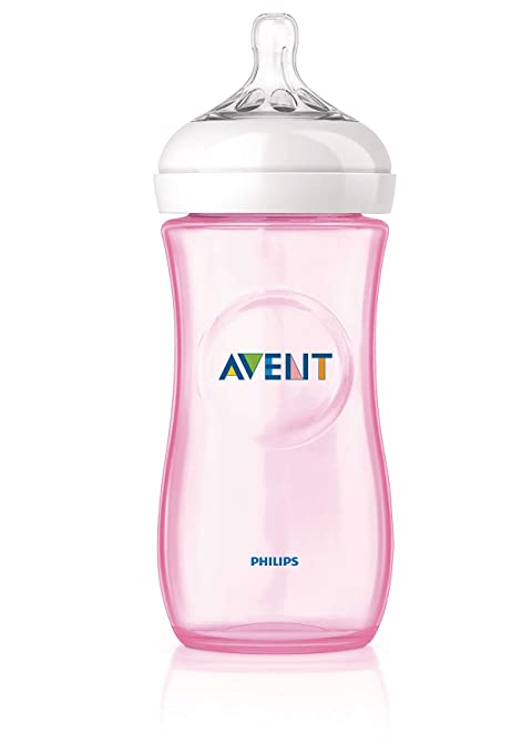 Philips Avent - SCF697/17 - Biberon Natural Rose 330ml