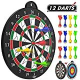 Magnetic Dart Board - 12pcs Magnetic dart - Excellent Indoor Game and Party Games - Magnetic Dart Board for kids and Adult