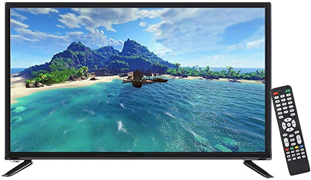 ASHATA 43 Pulgadas LCD HD 1080P 1920 * 1080 de Pantalla Grande Ultra-Estrechos Bezels Pantalla Plana Smart TV, Negro, Edición de TV(UE): Amazon.es: Electrónica