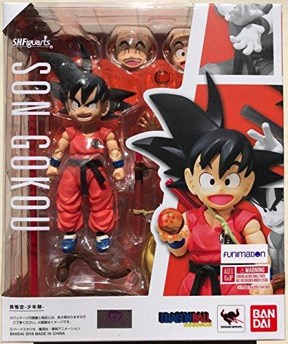Bandai Tamashii Nations S.H. Figuarts Kid Goku Dragon Ball Action Figure (Dragon Ball Gt The One Star Dragon)