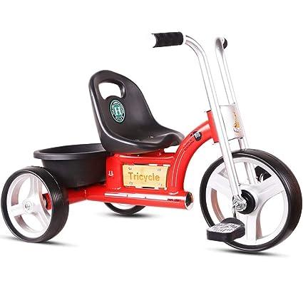 ZLMI Caminante, Triciclo para niños, niños Pedales, Bicicletas, 3-6 años