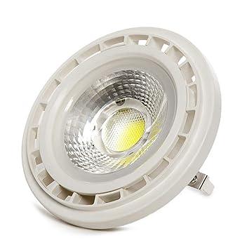 Greenice | Bombilla de LEDs AR111 G53 COB 12W 1080Lm 30.000H | Blanco Cálido
