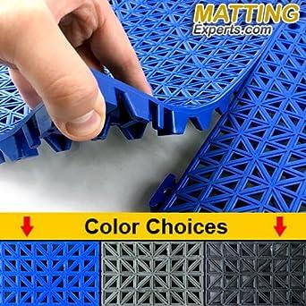 Amazon.com: SIX VinTile Modular Interlocking Cushion Floor Tiles ...