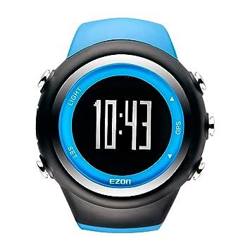Top Marke Ezon T031 Wiederaufladbare Gps Timing Uhr Laufen Fitness Sport Uhren Kalorien Zähler Abstand Tempo 50 M Wasserdichte Herrenuhren