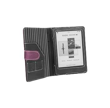 Cover-Up - Funda estilo libro para eReader Kobo Glo (piel, con ...