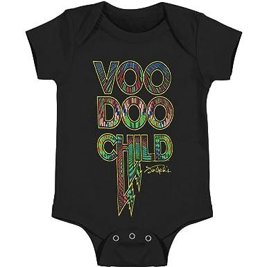 58a88203a Amazon.com: Jimi Hendrix Boys' Voodoo Child Bodysuit Black: Clothing