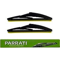 PARRATI OEM Quality 8 Inch Premium All-Season Rear Windshield Wiper Blades (Pack of 2)