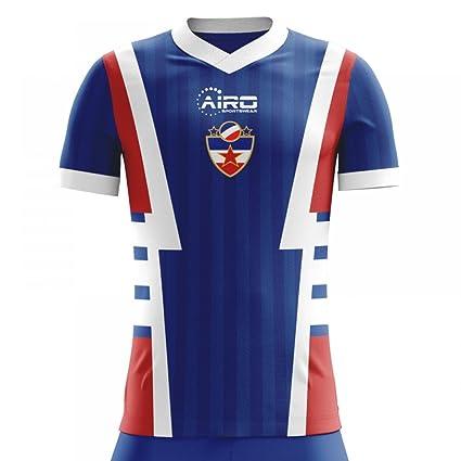 abc798d7d Amazon.com : Airo Sportswear 2018-2019 Yugoslavia Home Concept Football  Soccer T-Shirt Jersey : Sports & Outdoors