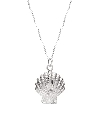 product necklaces necklace actina tiny jewelry scallop and pendants