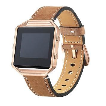 Correa de reloj con marco de metal de la marca Saihui, de lujo, con