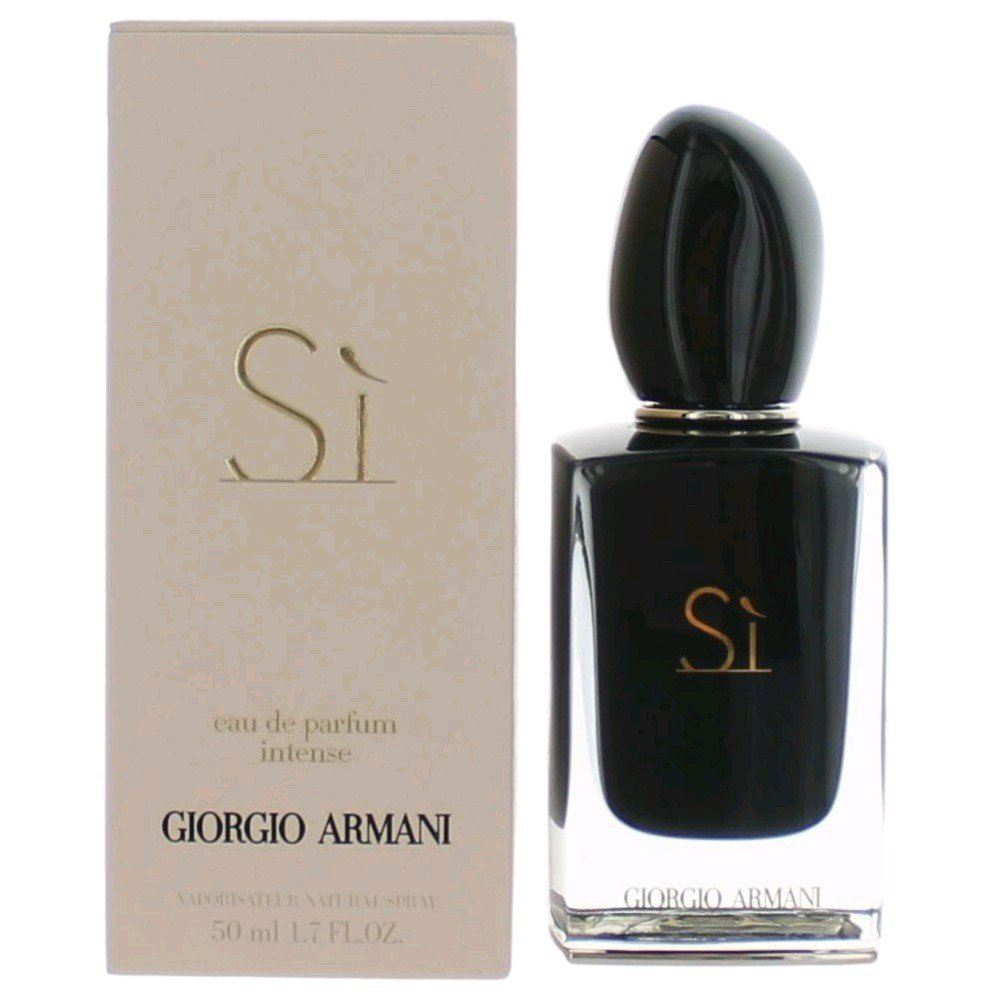 Armani Eau De Parfum Si Intense Spray for Women, 3.4-Ounce ARMANI-035300 ARM00149