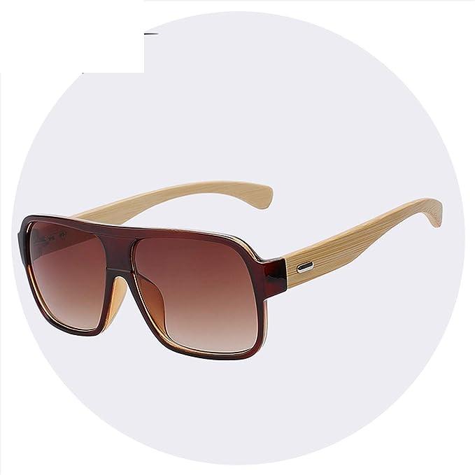 Amazon.com: Gafas de sol para hombre, de madera, diseño de ...
