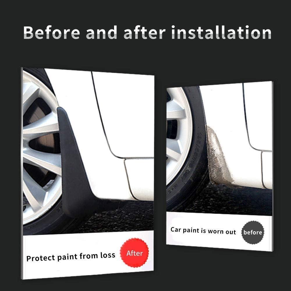 Maite For Ford Focus Hatchback 2012-2019 Car Front and Rear Mud Flaps Splash Guards Fender Mudguard 4Pcs