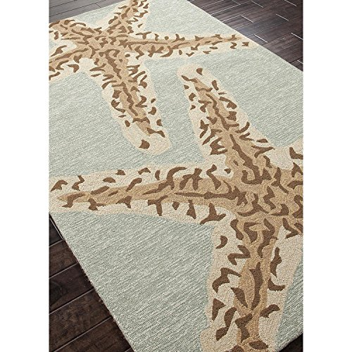 2-x-3-Ash-Gray-and-Sandstone-Tan-Sea-Star-Outdoor-Area-Throw-Rug