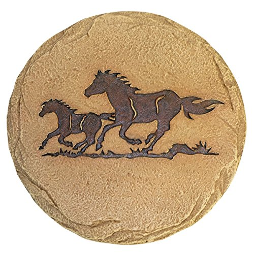 LL Home Stepping Stone Horses Home Decor (Stone Horse)