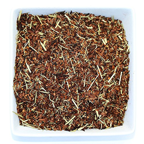 Tealyra - Sweet Raspberry - Rooibos and Honeybush - Lemongrass - Red Bush Herbal Loose Leaf Tea - Antioxidants Rich - Relaxing - Hot and Iced - Caffeine-Free - All Natural - 110g (4-ounce)