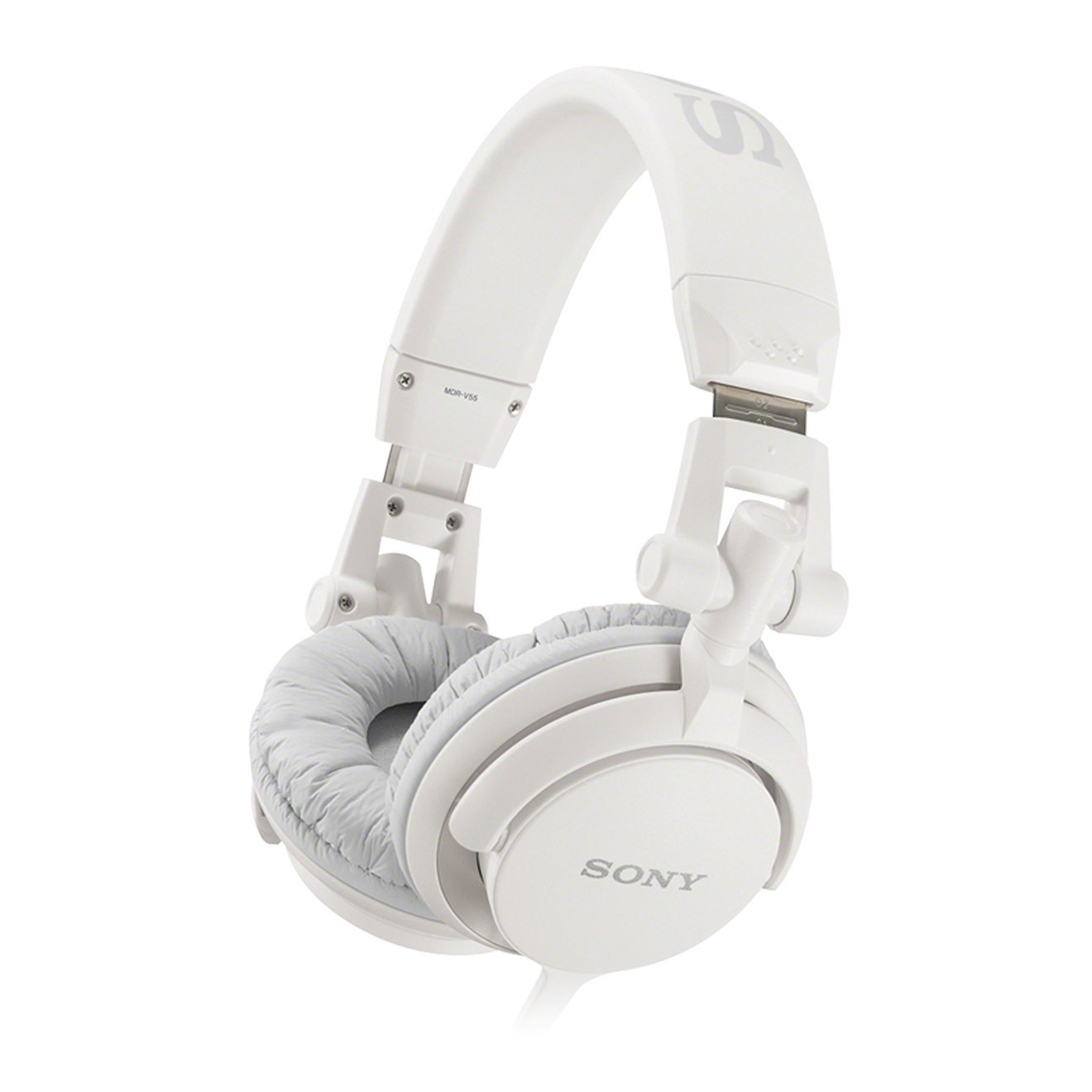 Sony MDR-V55 DJ Stereo Headphones - White  Amazon.co.uk  Electronics 87b4ab559c5a
