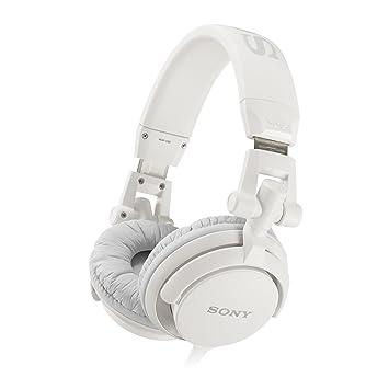 191bb202ff0 Sony MDR-V55 DJ Stereo Headphones - White: Amazon.co.uk: Electronics