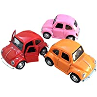 Remeehi 1:36 Mini Alloy Car Models Toys Beetle Pull Back Car Auto Metal Toy Cars Miniatures Gifts For Boys Children Random Color