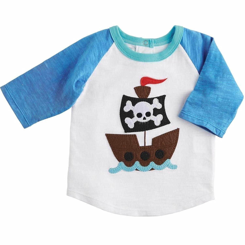 Amazon Com Mud Pie Baby Boy Pirate Ship T Shirt M 2 3t Clothing