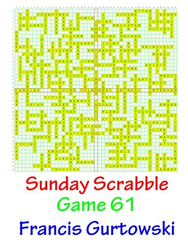 Sunday Scrabble Game 61 ebook