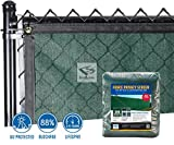 Privacy Fence Screen 85% (6 ft. x 12 ft., Forest Green)