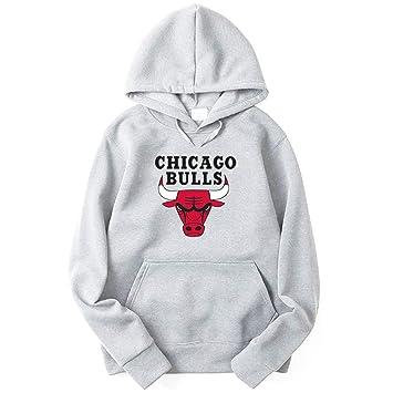 Chicago Bulls Sudaderas Hombres Jóvenes Deportes Baloncesto ...