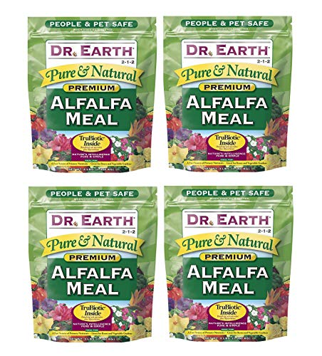 Dr. Earth Pure Natural Alfalfa Meal 3 lb undl f F ur