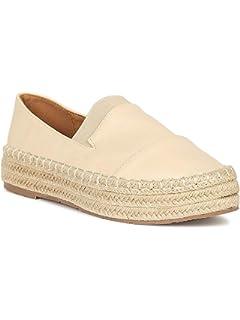 edf2ed25da35b Amazon.com | Alrisco Women Fabric Round Toe Espadrille Slip On ...