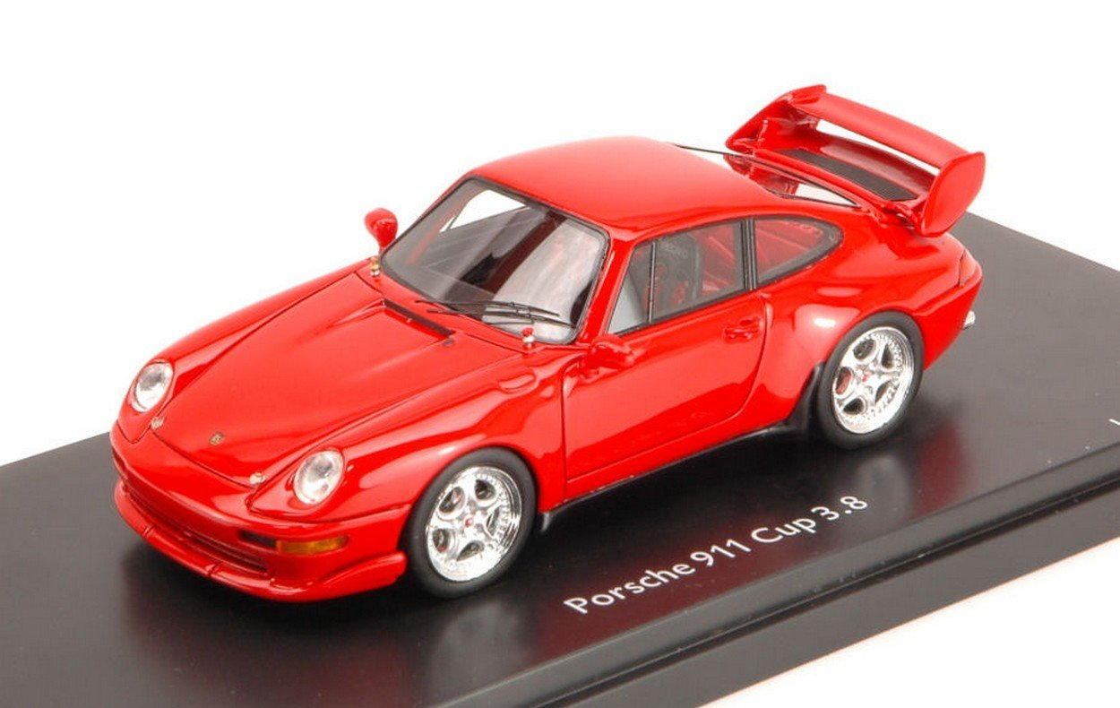 El ultimo 2018 Schuco SH8887 Porsche Porsche Porsche 911 993 Cup 3.8 1994 Red 1:43 MODELLINO Die Cast Model  venta con alto descuento
