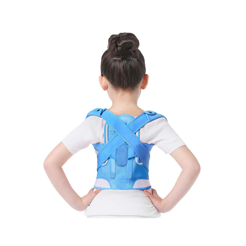 bluee Sweet Studio Posture Corrector Breathable Durable Comfortable Back Shoulder Lumbar Waist Supporting Correction