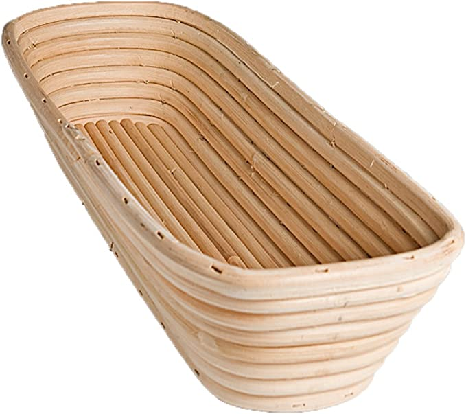 Amazon Com Frieling Usa Brotform Rectangular Bread Rising Basket 15 Inch By 5 5 Inch Kitchen Dining