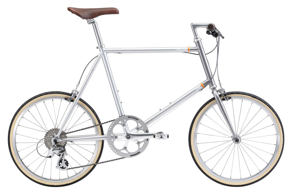 FUJI(フジ) HELION 50cm 8speed PILE SILVER ミニベロ 2018年モデル 18HELNSV PILE SILVER 50cm B075SZFDT3