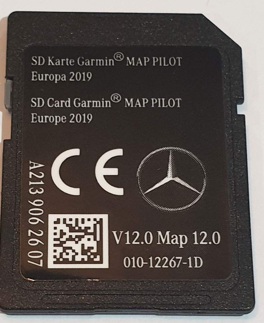 Star2 A2139062607 Carte SD Mercedes Garmin Map Pilot Europe 2019 v12