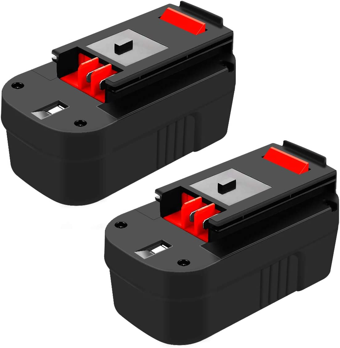 2 Pack 3.6Ah HPB18 Battery Replacement Compatible with Black and Decker 18 Volt Firestorm HPB18-OPE FSB18 FS18FL FS180BX A1718 244760-00 FS18BX FS18FL Cordless Power Tools