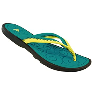 26c68b76f6771 Adidas Sleekwana UltraFoam+ Flipflop Women s  Amazon.co.uk  Sports    Outdoors