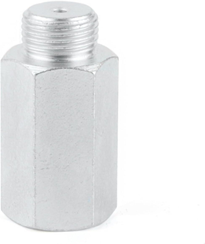TAKPART M18 x 1.5 Galvanisierter Oxygen Sauerstoff-Sensor Extender Verl/ängerung Adapter
