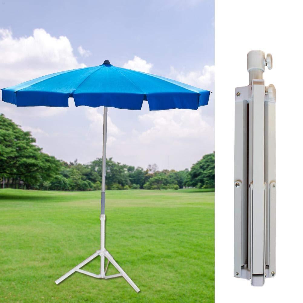 Heavy Duty Parasol Stand Folding Garden Beach Umbrella Square Iron Stand Chalkalon Parasol Stand Base