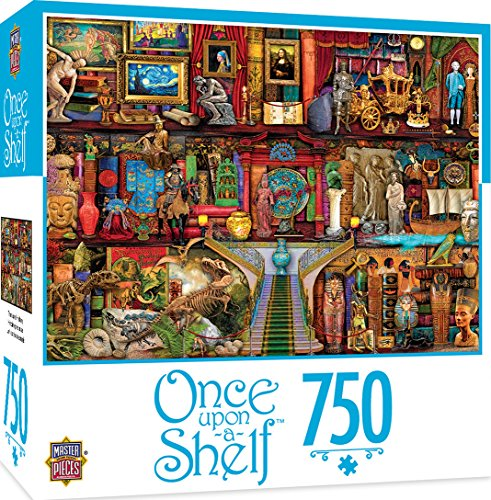 MasterPieces Once Upon a Shelf Treasured History - Historic Icons 750 Piece Jigsaw Puzzle by Aimee Stewart
