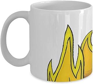 61SdYxDPD9L._AC_UL320_SR266320_ amazon com this is fine mug (white) 11oz this is fine meme coffee
