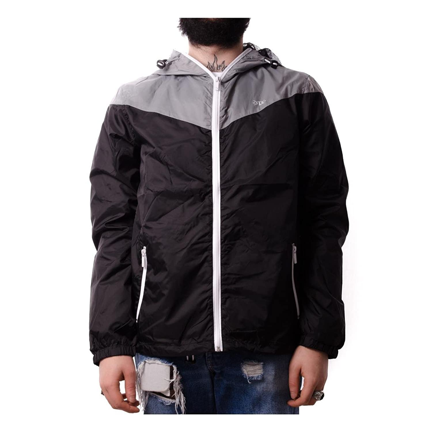 !Solid Angel men, anorak, black
