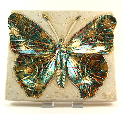 Garry White Wall Plaque - Butterfly - Signed